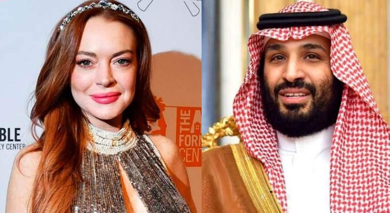 ¿Sabías que Lindsay Lohan podría ser amante del príncipe heredero de Arabia Saudí, Bin Salman?