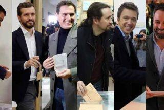 Elecciones generales 10-N: España contiene la respiración a pocos minutos del cierre de las urnas