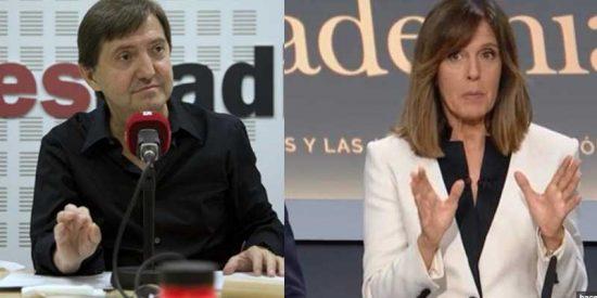 """Losantos zarandea a la 'moderadora' Ana Blanco por su numerito feminista en el debate: """"¿Qué paridad hay en tu telediario?"""""""