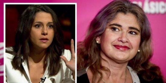 """Lucía Etxebarría se pasa '7 pueblos' sobre el embarazo de Inés Arrimadas: """"¿Me puedes recomendar tu camello?"""""""