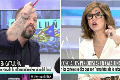 El 'falso obrero' Antonio Maestre se pone como un verdadero chulo contra la mismísima Ana Rosa Quintana y sale abrasado