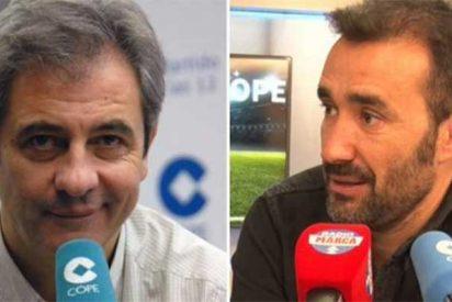 """AUDIO Manolo Lama ni olvida ni perdona la 'traición' de Juanma Castaño: """"Tú te sentaste en mi silla al día siguiente de ser despedido de Cuatro"""""""