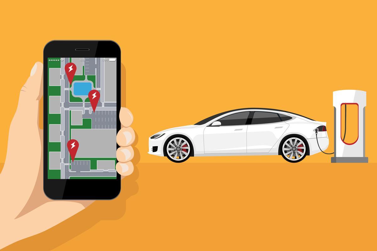 Estas son las dos nuevas funciones de Google Maps para el coche eléctrico