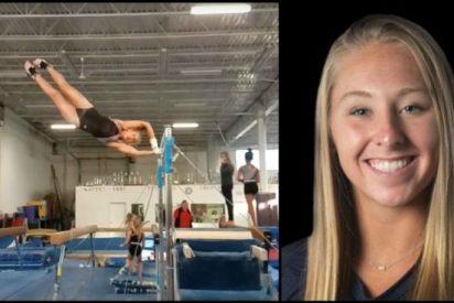 Muere la gimnasta Melanie Coleman tras una brutal caída