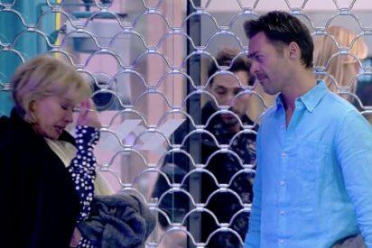 El espeluzanante ataque de ansiedad de Mila Ximénez al quedarse encerrada a solas con Hugo Castejón