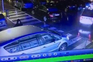 Vídeo viral: Este ladrón arrastra al dueño del coche que estaba robando durante su fuga en Cantabria