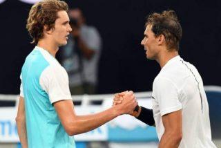 Salta la polémica por el dinero ingresado por Zverev en comparación con Rafa Nadal