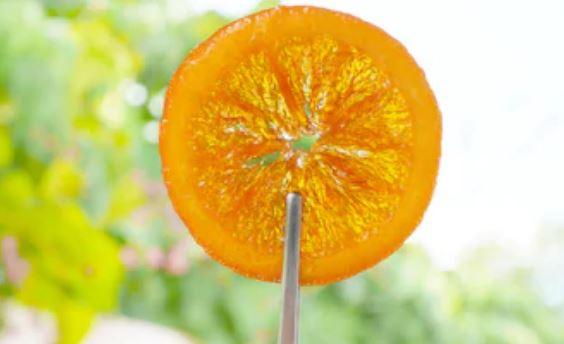 confitar naranjas
