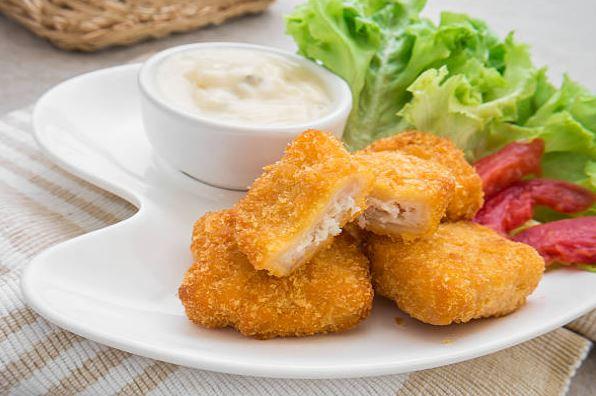 nuggets de pescado blanco