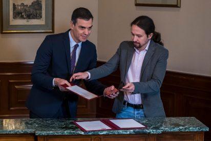 La confesión de Pablo Iglesias que trata de ocultar a toda costa Sánchez para poder seguir en Moncloa