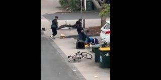 Vídeo viral: Así fue la brutal paliza que le dieron estos ladrones a un anciano