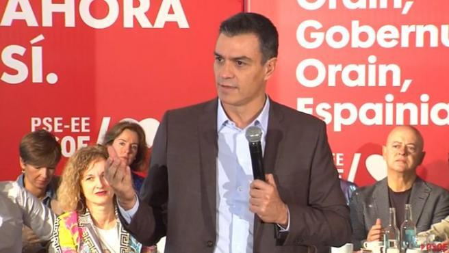 """Un sobradillo Pedro Sánchez sentencia: """"No vamos a hacer ninguna gran coalición con el PP"""""""