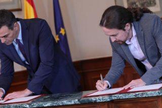 'Doctor Fraude': las 15 grandes mentiras del socialista Sánchez, el que no podía dormir solo de pensar en Pablo Iglesias