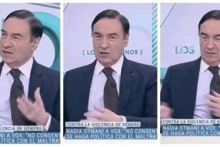 """El Quilombo / TVE hace de oro a Pedrojota para que suelte esta infamia miserable contra VOX: """"Buscan el voto de los maltratadores"""""""