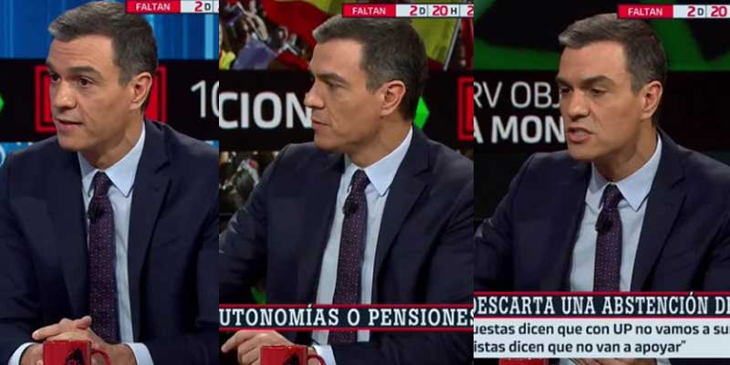 Las redes no tienen piedad con el enésimo conchabeo de Ferreras y Pedro Sánchez para lavar la cara al socialista a 72 horas de las elecciones