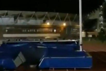 Atleta de Vigo denuncia que se entrena a oscuras mientras el alcalde llena la ciudad de lucecitas de Navidad