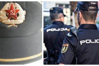 """""""Pasar por vestuario que ha han llegado las gorras nuevas"""": la gorra comunista que corre por WhatsApp entre la Policía Nacional"""