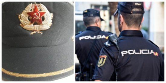 """""""Pasar por vestuario que ya han llegado las gorras nuevas"""": la gorra comunista que corre por WhatsApp entre la Policía Nacional"""