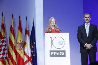 Princesa Leonor - Premios Princesa Girona 2019 © Casa S.M. El Rey