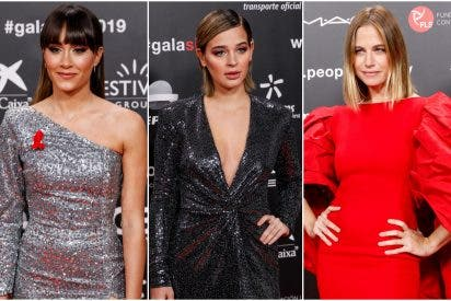 Aitana, Laura Escanes y Martina Klein, las más 'cañonas' de la alfombra roja de la gala 'People in red'