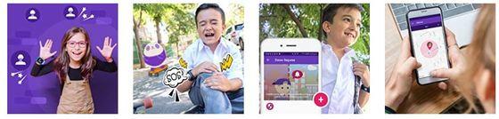 smartwacht para niños con gps