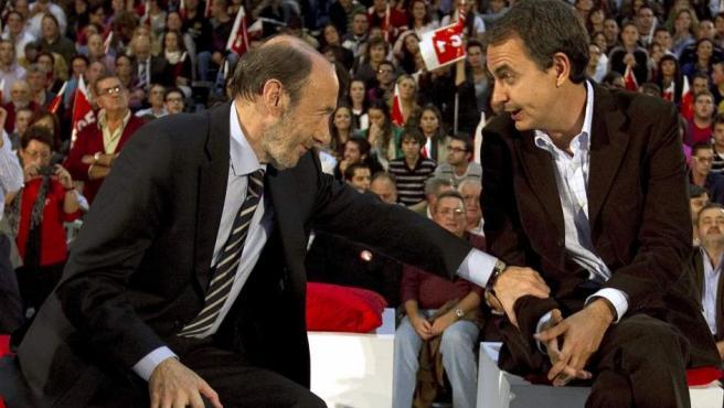 ¿Sabes qué decisión de Zapatero hizo llorar a Rubalcaba?