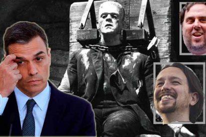Las risas amargas que nos vamos a echar con las costuras de jirones imposibles de Sánchez a su Gobierno Frankenstein