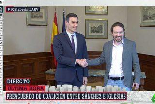 Las redes se ponen a temblar ante el fulgurante preacuerdo de Pablo Iglesias y Pedro Sánchez para un gobierno del Frente Popular