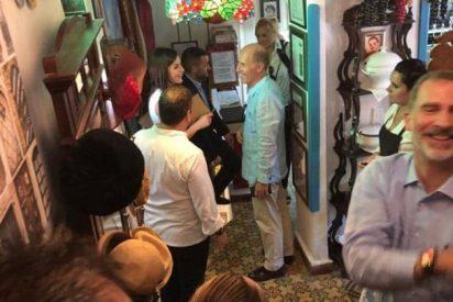 Escándalo en Casa Real: filtran fotos muy inadecuadas de Don Felipe y de Doña Letizia en Cuba