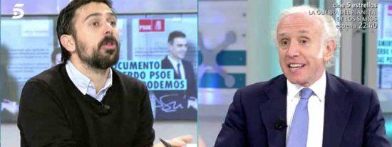 """Inda desmonta a base de cuchilladas las chorradas de Ramón Espinar en directo: """"¡No te enteras de nada!"""""""