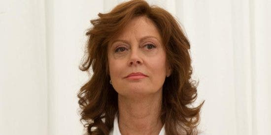 La cara de Susan Sarandon queda 'hecha un cuadro' tras una brutal caída