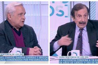El Quilombo / Advertimos que estas imágenes pueden dañar su sensibilidad: tertulianos de Tele-Sánchez defendiendo la honorabilidad de los corruptos de los ERE