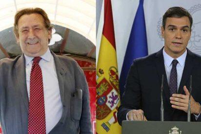 """Alfonso Ussía tacha de """"psicópata zumbado por el poder"""" a Pedro Sánchez y alerta que puede acabar llevando a España a un estallido de violencia"""