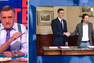 "'Don Piso' Wyoming se cachondea de las pintas de Pablo Iglesias: ""Ahora que va a ser vicepresidente, ¡cómprese ropa por favor!"""