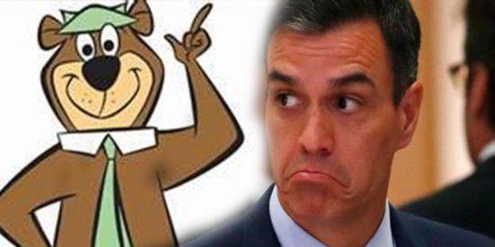 Vídeo viral: comparan el tono de voz de Sánchez con el del Oso Yogui… ¡Y es clavadito!