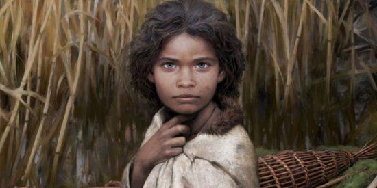 """Un """"chicle"""" de unos 6.000 años ayudó a reconstruir el rostro de Lola, esta mujer de la Edad de Piedra"""