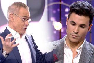 Jordi González demuestra lo mal presentador que es enfrentándose como un loco a Kiko Jiménez