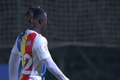 """Así fue el """"horroroso"""" penalti decisivo que sentenció al Andorra y dio de qué hablar en la Copa del Rey"""