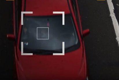 Así son las infalibles primeras cámaras del mundo que detectan el uso ilegal del móvil al volante