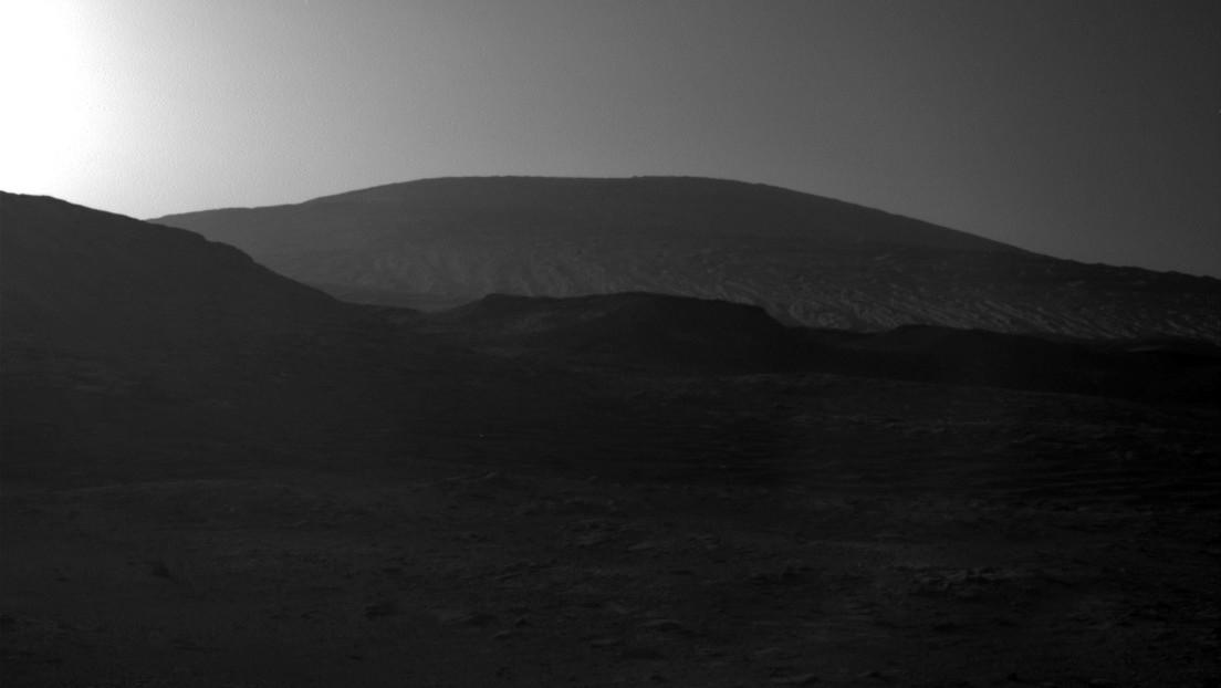 La NASA comparte esta imagen del amanecer en Marte