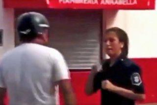 Vídeo viral: Este hombre abofetea a una policía y esta le da una dura respuesta