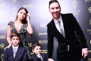 Así fue la adorable reacción de un hijo de Messi al escuchar que su padre es el ganador del Balón de Oro