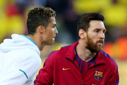 Cristiano Ronaldo se pica por perder el Balón de Oro ante Messi y le lanza un reto