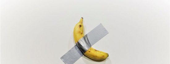 Exponen este plátano que vale 120.000 dólares en una galería de arte y la 'obra' ya tiene varios compradores