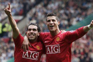Carlos Tévez cuenta una anécdota de Cristiano Ronaldo que le sirvió de lección en la vida