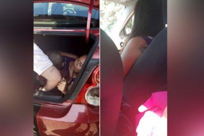 Este conductor de Uber encuentra a su mujer escondida en la maleta de su coche para espiarlo