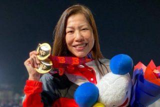 Premio a la insistencia: Esta deportista gana una medalla de oro 38 años después de su debut en una competición