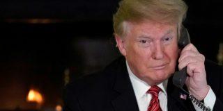 Trump niega rotundamente que use un móvil personal