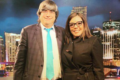 """Jaime Bayly invita a esta vidente colombiana a su programa y le cuenta que Cristina Kirchner """"derrumbó"""" al ARA San Juan"""