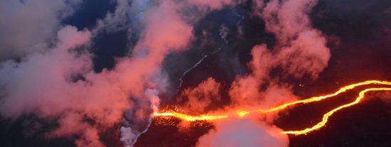 Demuestran cómo una pequeña fuga de magma provocó el derrumbe de un volcán en Hawái